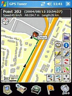 GPS Tuner 5 1 (Windows Mobile 2003) PC World - Testy i Ceny sprzętu