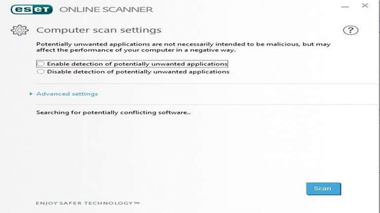 eset online scanner facebook download