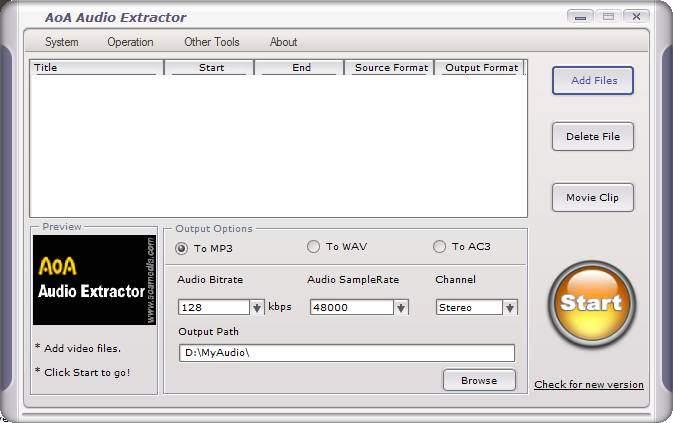 aoa audio extractor 1.2.5