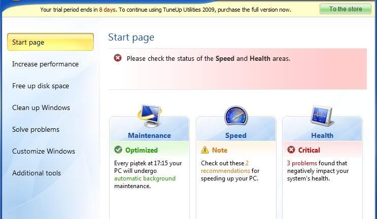 download tuneup utilities 2009 free full version