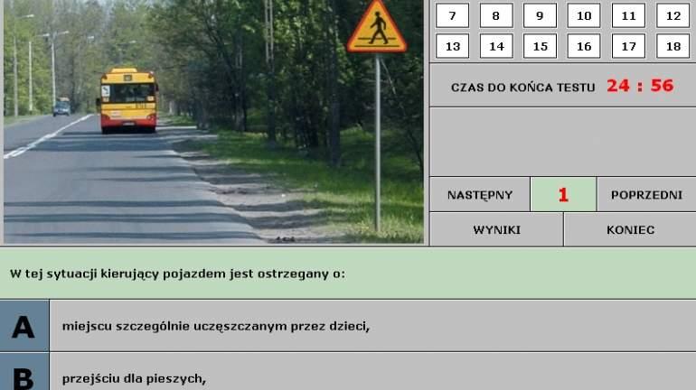 testy psychologiczne dla kierowców kat b
