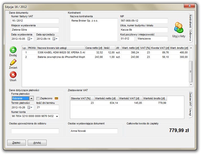0e2114b9 Jaki program do wystawiania faktur VAT wybrać? - PC World - Testy i ...