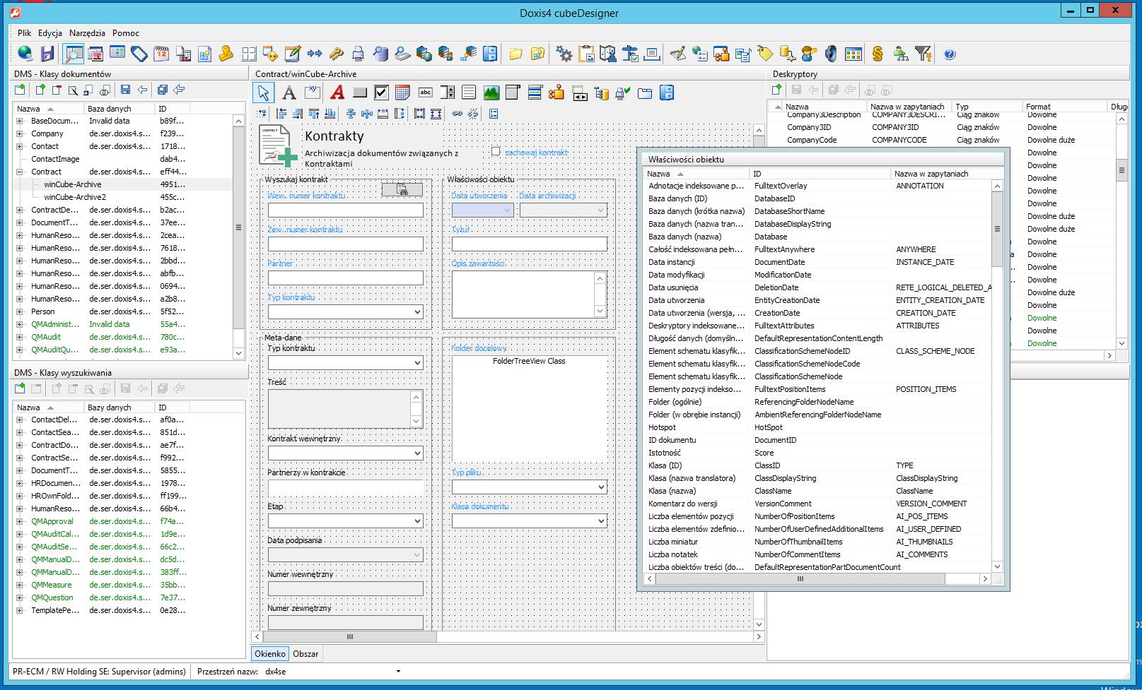 686df75ec04beb cubeDesigner umożliwia projektowanie niestandardowych formularzy używanych  w systemie zarządzania dokumentami Doxis4 iECM.