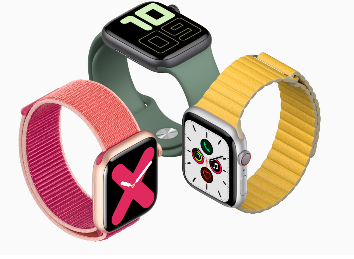 Apple Watch Series 5 z Always-on-display
