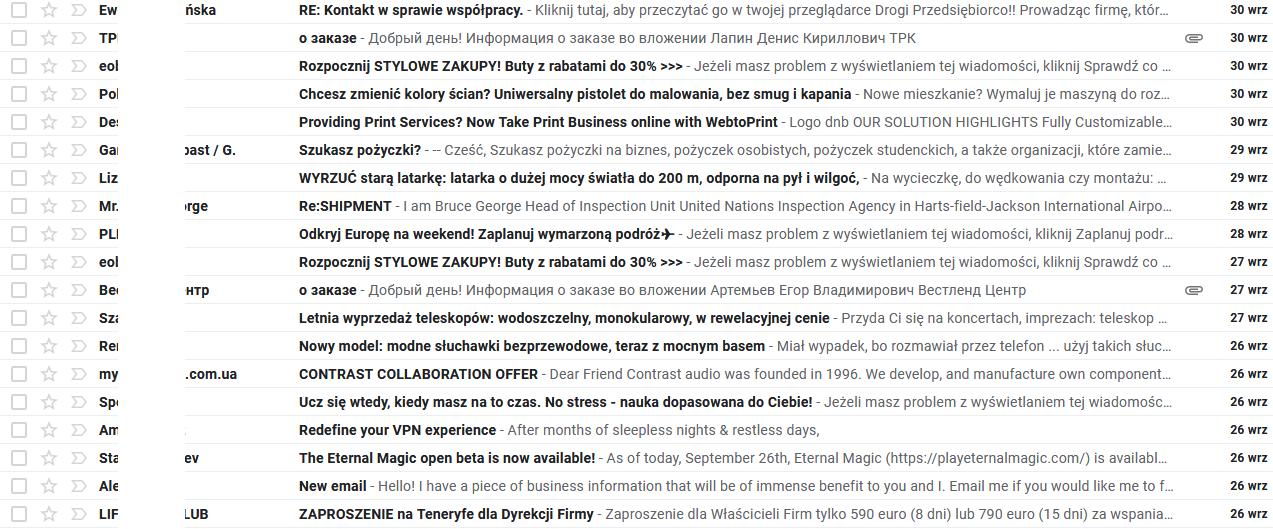 Randkowe odpowiedzi e-mail