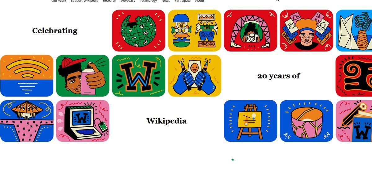 Wikipedia obchodzi dwudzieste urodziny