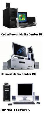 Przykłady dostępnych w USA komputerów z Windows XP Media Center