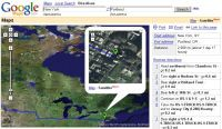 Google z satelity