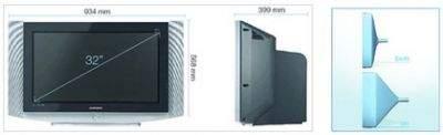 Budowa kineskopu Slim TV Samsunga