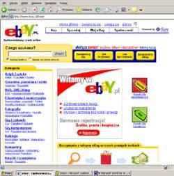 Strona główna serwisu eBay.pl