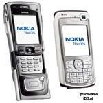 N91 i N70 - najnowsze modele telefonów Nokii. N91 dysponuje dyskiem twardym o pojeności 4 GB.