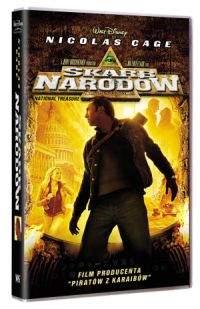 """""""Skarb narodów"""" - okładka wydania DVD"""