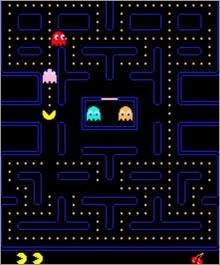 Oryginalny Pac Man z 1980 roku...
