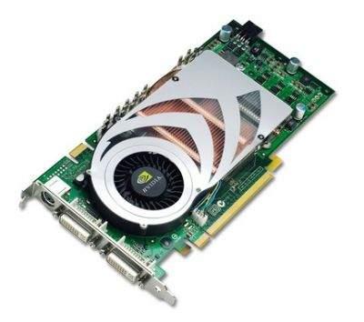 Karta GeForce 7800 GT budową nie różni się od wersji GTX