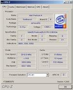 Program CPU-Z również korzysta z intrukcji CPUID