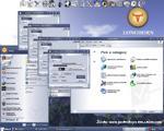 W oczekiwaniu na Longhorna niecierpliwi użytkownicy przygotowują wzorowane na nim skórki dla Windows XP (źródło: www.pcdesktops.emuunlim.com)