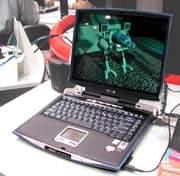 Notebook Toshiby z ekranem 3D