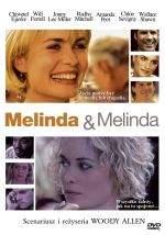 """""""Melinda i Melinda"""" - okładka polskiego wydania DVD."""