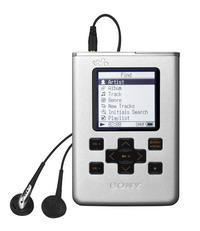 Limitowaną edycję odtwarzacza NW-HD5H można poznać po pojemniejszym dysku twardym i czarnym przyciskom na obudowie