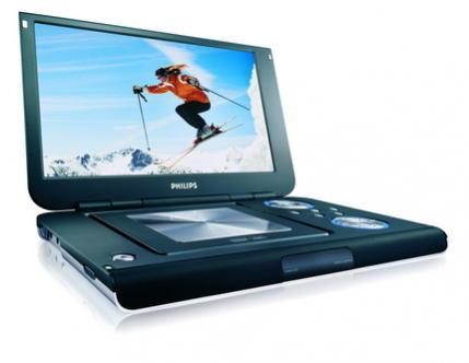 Przenośny odtwarzacz DVD/DivX Philips PET1000