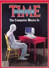 """Okładka magazynu """"Time"""": PC - maszyną roku"""