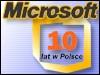 10 lat Microsoftu w Polsce