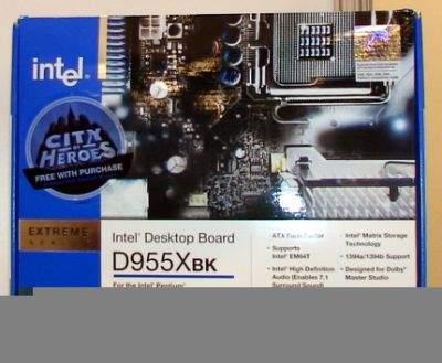 Płyta główna Intela z chipsetem i955X jako pierwsza otrzymała certyfikat kompatybilności z CrossFire