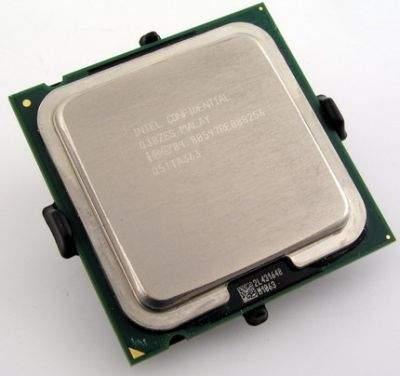 64-bitowy Celeron D 351 ma taką samą podstawkę Socket 775 jak wszystkie nowe procesory Intela