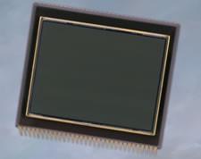 Sensor obrazu Kodak KAF-39000, o rozdzielczości efektywnej 39,5 mln pikseli.