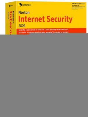 Pakiet oprogramowania Norton Internet Security 2006 PL