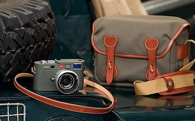 Leica M8.2 Safari - zestaw dla profesjonalistów. Cena - 10 000 USD
