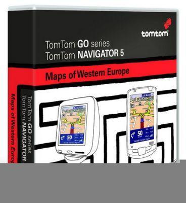 Aplikacja Tom Tom Navigator 5 zawiera szczegółowe mapy Polski i wielu krajów europejskich