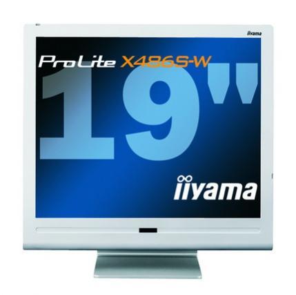 Monitory iiyama serii X436 i X486 można teraz kupić także w perłowej wersji kolorystycznej