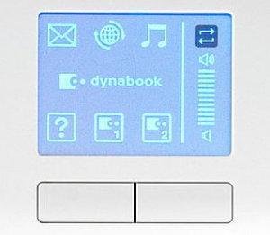Touchpad w nowych notebookach Dynabook