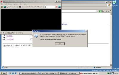 Windows Server 2003 - exploit już się wykonał