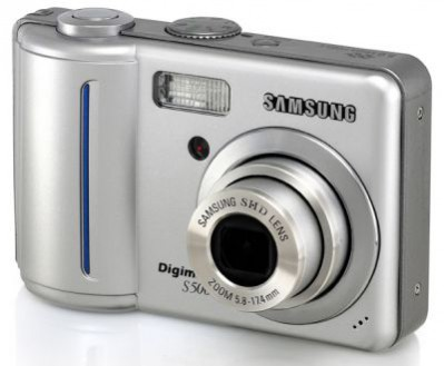 Digimax S500 - 5 megapikseli Samsunga