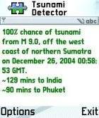Mobile Tsunami Detector