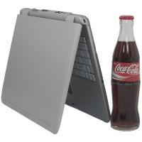 Notebook Zepto 120sl i butelka Coca-Coli