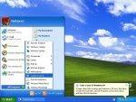Czysty Windows XP tuż po instalacji
