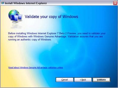 Sprawdzanie autentyczności Windows