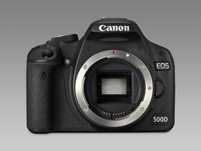 EOS 500D - 15 megapikseli i filmy HD w nowej lustrzance Canon