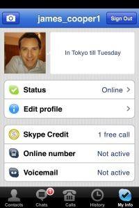 Skype dla iPhone'a