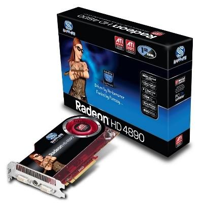 Sapphire prezentuje dwa akceleratory Radeon HD 4890