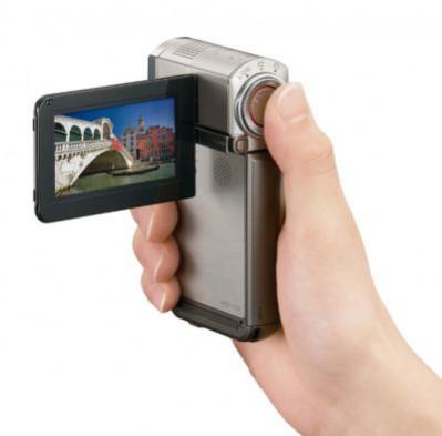 Sony Handycam HDR-TG7VE  - kamera z GPS