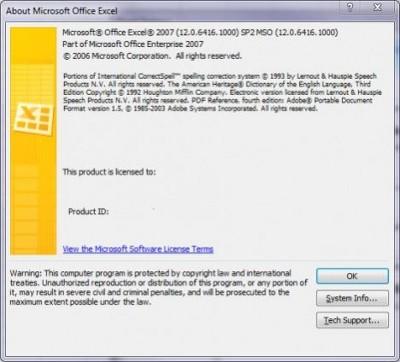 SP2 dla Office'a 2007 wyciekł do Sieci