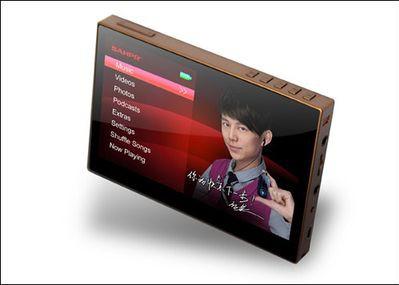 Sahpr S600 - PMP z przyzwoitym ekranem oraz wsparciem filmów HD