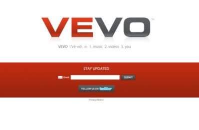 Vevo.com - na razie nie działa...