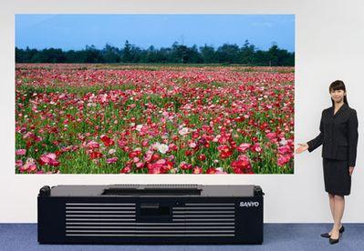 """Sanyo: 7000 ANSI Lumenów w """"krótkodystansowym"""" laserowym projektorze Full HD"""