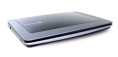 """13,4-calowy """"motylek"""" od Packard Bell pracuje 8 godzin na wbudowanym akumulatorze"""