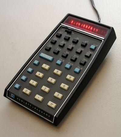 """Kieszonkowy kalkulator naukowy HP-35 doceniony po 37 latach za """"przetrwanie próby czasu"""""""